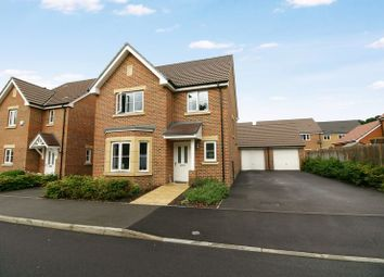 Thumbnail 4 bedroom detached house for sale in Jellicoe Drive, Sarisbury Green, Southampton