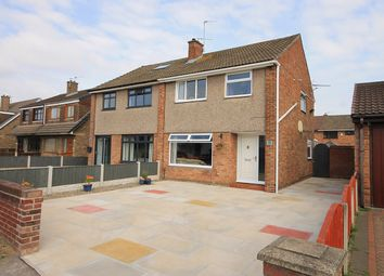 Thumbnail 3 bed semi-detached house for sale in Four Acre Lane, Clock Face, St Helens