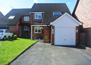 Thumbnail 3 bedroom detached house for sale in Cowslip Bank, Lychpit, Basingstoke