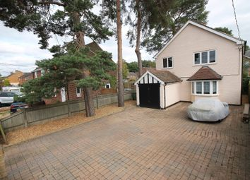 Thumbnail 3 bed detached house for sale in College Road, College Town, Sandhurst