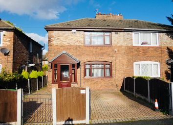 Thumbnail 3 bed semi-detached house for sale in Lane End Road, Burnage, Manchester