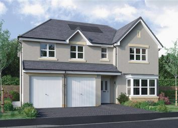 "Thumbnail 5 bedroom detached house for sale in ""Kinnaird"" at Dedridge East Industrial Estate, Abbotsford Rise, Livingston"