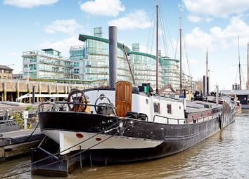 Thumbnail 2 bed houseboat for sale in Wapping High Street, London