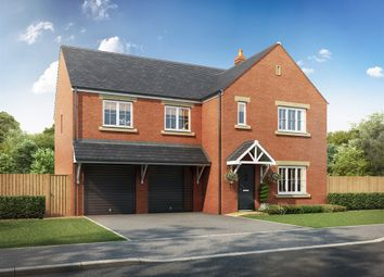 """Thumbnail 6 bed detached house for sale in """"The Turner """" at Hounsfield Way, Sutton-On-Trent, Newark"""