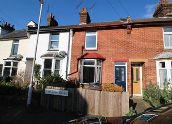 Thumbnail 3 bed terraced house to rent in Tufton Road, Ashford