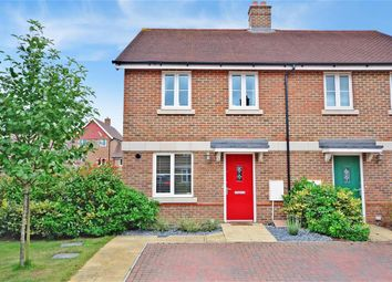 Thumbnail 3 bed semi-detached house for sale in Flaxen Fields, Uckfield, East Sussex