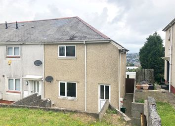 Thumbnail 2 bedroom end terrace house for sale in Gwynedd Avenue, Townhill, Swansea