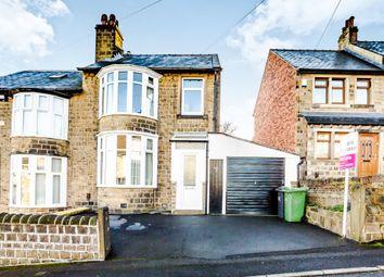 Thumbnail 3 bed semi-detached house for sale in William Street, Crosland Moor, Huddersfield
