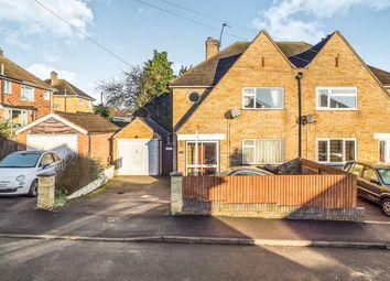 Thumbnail 3 bed semi-detached house for sale in Dulverton Road, Melton Mowbray