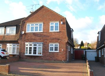 Thumbnail 3 bedroom semi-detached house for sale in Forth Road, Upminster