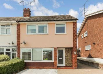 Thumbnail 3 bed semi-detached house for sale in Dandies Drive, Eastwood, Essex
