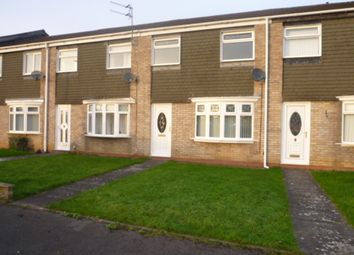 Thumbnail 3 bed terraced house for sale in Acomb Avenue, Seaton Delaval, Whitley Bay