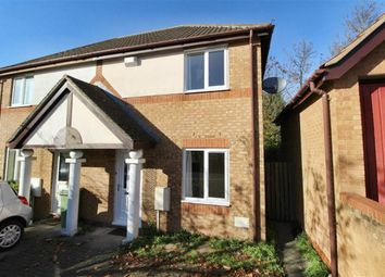 Thumbnail 2 bedroom semi-detached house for sale in Eelbrook Ave, Bradwell Common, Milton Keynes