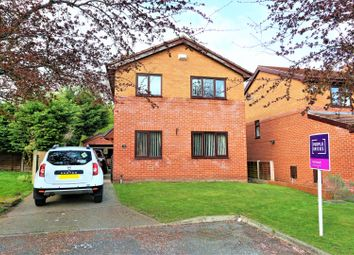 Thumbnail 4 bed detached house for sale in Terrig Way, Wrexham