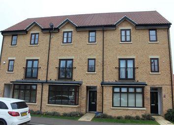 Thumbnail 4 bed terraced house for sale in Cranborne Avenue, Westcroft, Milton Keynes, Buckinghamshire