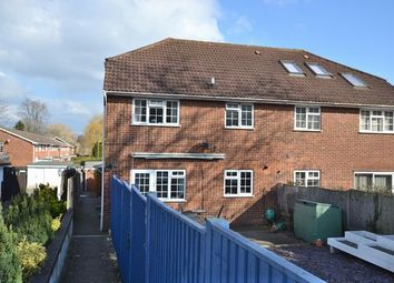 Thumbnail 1 bed end terrace house to rent in Reading Road South, Church Crookham, Fleet