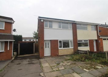 Thumbnail 3 bed semi-detached house for sale in Porlock Close, Platt Bridge, Wigan