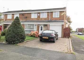 Thumbnail 4 bedroom semi-detached house for sale in Newlyn Drive, Parkside Dale, Cramlington