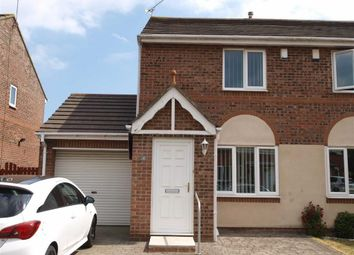 Thumbnail 2 bed semi-detached house for sale in Fulbrook Close, Cramlington