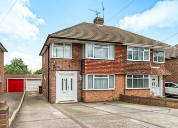 Thumbnail 3 bed semi-detached house for sale in Lyndhurst Avenue, Rainham, Gillingham