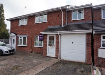 Thumbnail 4 bed semi-detached house for sale in Marlowe Drive, Willenhall