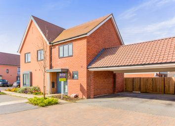 Thumbnail 2 bedroom semi-detached house for sale in Hudson Road, Upper Cambourne, Cambridge