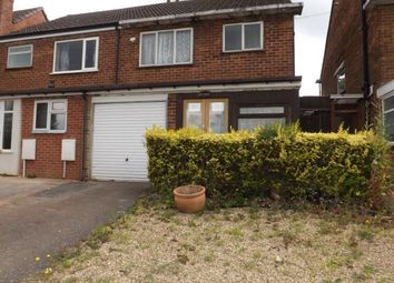 Thumbnail 3 bed semi-detached house for sale in Kingsbury Road, Minworth, Sutton Coldfield, West Midlands