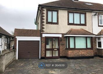 Thumbnail 3 bed semi-detached house to rent in Hilldown Road, Bromley
