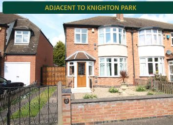 Thumbnail 3 bedroom semi-detached house for sale in Kingsmead Close, Knighton, Leicester