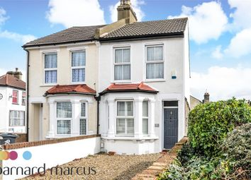 Thumbnail 3 bed semi-detached house to rent in Cross Road, Croydon