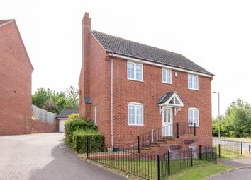 Thumbnail 4 bedroom detached house to rent in Hunt Close, Wellingborough