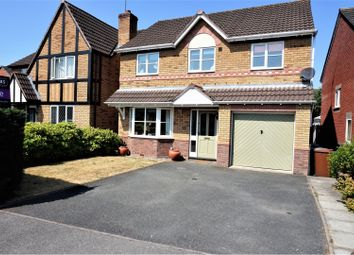 Thumbnail 4 bed detached house to rent in Chartley Grove, Middlewich