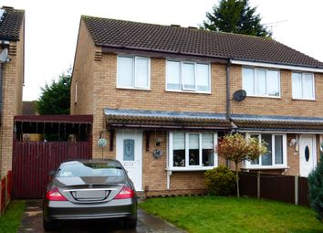 Thumbnail 3 bed semi-detached house for sale in Broome Close, New Balderton, Newark