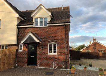 Thumbnail 2 bed semi-detached house for sale in High Road, Great Finborough, Stowmarket
