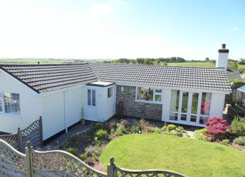Thumbnail 3 bed detached bungalow for sale in Trelawney Close, Warbstow, Launceston