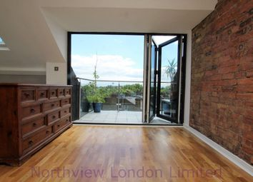 Thumbnail 3 bed flat to rent in Quernmore Road, Stroud Green