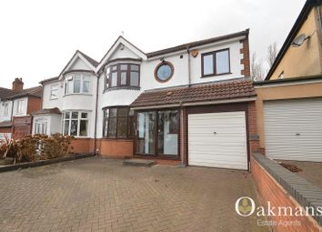Thumbnail 4 bedroom semi-detached house to rent in Wolverhampton Road South, Quinton, Birmingham, West Midlands.