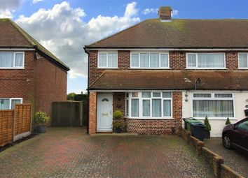 Thumbnail 3 bed end terrace house for sale in Willesborogh, Ashford