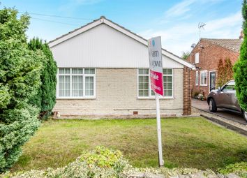 Thumbnail 3 bed detached bungalow for sale in Linden Way, Thorpe Willoughby, Selby