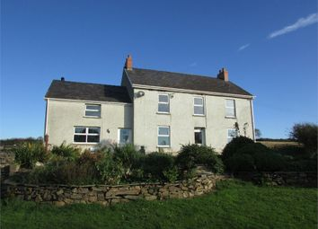 Thumbnail 4 bed detached house for sale in Blaencediw, Abbey Road, Whitland, Carmarthenshire