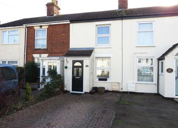 Thumbnail 2 bedroom terraced house for sale in Beccles Road, Carlton Colville, Lowestoft