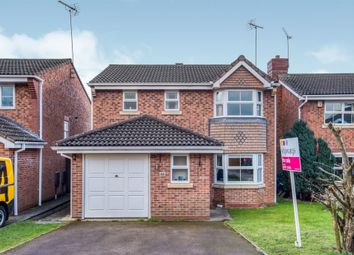 Thumbnail 3 bed detached house for sale in Moorcroft Gardens, Walkwood, Redditch
