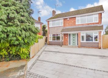 Thumbnail 5 bed detached house for sale in Bath Close, Sapcote, Leicester, Leicestershire