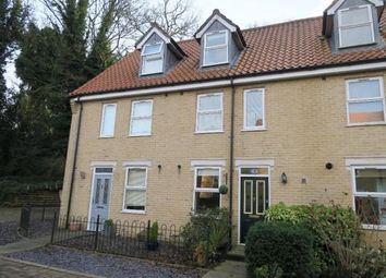 Thumbnail 3 bedroom town house for sale in Masons Close, Ipswich