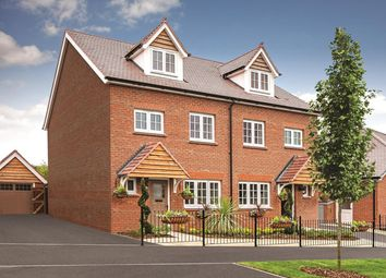Thumbnail 4 bedroom terraced house for sale in The Harringtons, Harrington Lane, Exeter, Devon