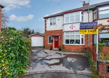Thumbnail 3 bed semi-detached house for sale in Outwood Grove, Bolton