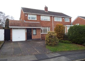 Thumbnail 3 bedroom semi-detached house for sale in Valley Road, Streetly, Sutton Coldfield, West Midlands