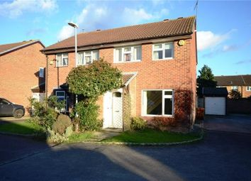 Thumbnail 3 bed semi-detached house for sale in Barkwith Close, Lower Earley, Reading