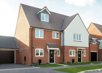 "Thumbnail 3 bedroom terraced house for sale in ""The Chichester Hulsfield Terrace"" at Shopwhyke Road, Chichester"