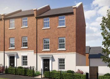 "4 bed terraced house for sale in ""The Burnet"" at Haye Road, Sherford, Plymouth PL9"